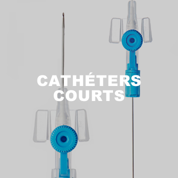 Cathéters courts